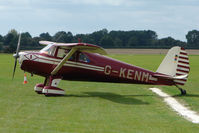 G-KENM @ EGBK - Visitor to the 2009 Sywell Revival Rally