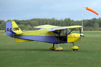 G-CCBG @ EGBK - Visitor to the 2009 Sywell Revival Rally
