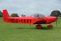 G-CEZV @ EGBK - Visitor to the 2009 Sywell Revival Rally