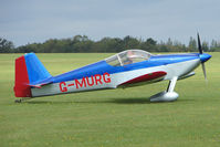 G-MURG @ EGBK - Visitor to the 2009 Sywell Revival Rally