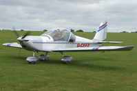 G-CEFZ @ EGBK - Visitor to the 2009 Sywell Revival Rally