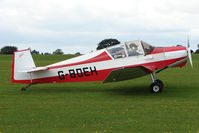G-BDEH @ EGBK - Visitor to the 2009 Sywell Revival Rally