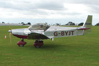 G-BYJT @ EGBK - Visitor to the 2009 Sywell Revival Rally - by Terry Fletcher