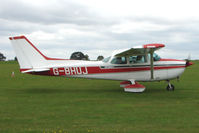 G-BHUJ @ EGBK - Visitor to the 2009 Sywell Revival Rally