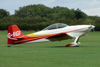 G-IIGI @ EGBK - Visitor to the 2009 Sywell Revival Rally