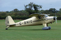 G-BNIO @ EGBK - Visitor to the 2009 Sywell Revival Rally