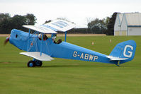 G-ABWP @ EGBK - Visitor to the 2009 Sywell Revival Rally
