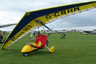 G-CBHM @ EGBK - Visitor to the 2009 Sywell Revival Rally