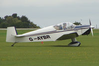 G-AYBR @ EGBK - Visitor to the 2009 Sywell Revival Rally