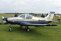 G-LLOY @ EGBK - Exhibitor at LAA Stands at 2009 Sywell Revival Rally
