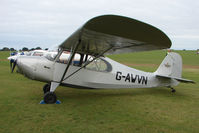 G-AWVN @ EGBK - Visitor to the 2009 Sywell Revival Rally
