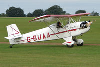 G-BUAA @ EGBK - Visitor to the 2009 Sywell Revival Rally