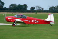 G-ATOH @ EGBK - Visitor to the 2009 Sywell Revival Rally