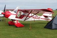 G-BZAR @ EGBK - Visitor to the 2009 Sywell Revival Rally