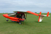 G-BZWJ @ EGBK - Visitor to the 2009 Sywell Revival Rally