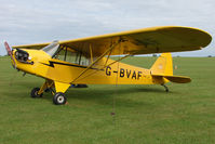 G-BVAF @ EGBK - Visitor to the 2009 Sywell Revival Rally