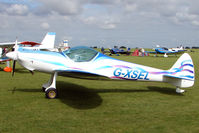 G-XSEL @ EGBK - Visitor to the 2009 Sywell Revival Rally