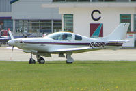 G-BSRI @ EGBK - Visitor to the 2009 Sywell Revival Rally