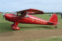 G-BROO @ EGBK - Visitor to the 2009 Sywell Revival Rally