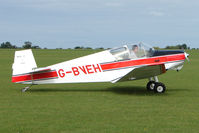 G-BVEH @ EGBK - Visitor to the 2009 Sywell Revival Rally