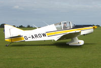 G-AROW @ EGBK - Visitor to the 2009 Sywell Revival Rally