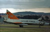 56-1314 @ EGQL - Another view of the F-102A of 57th Fighter Interceptor Squadron seen at the 1972 RAF Leuchars Airshow. - by Peter Nicholson