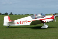 G-BEDD @ EGBK - Visitor to the 2009 Sywell Revival Rally