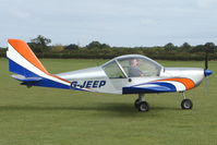 G-JEEP @ EGBK - Visitor to the 2009 Sywell Revival Rally