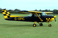 G-OPIC @ EGBK - Visitor to the 2009 Sywell Revival Rally
