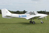 G-OAGI @ EGBK - Visitor to the 2009 Sywell Revival Rally