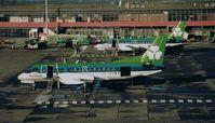 EI-CFD @ EIDW - Saab 340B c/n 257 Operated by EIN 1991-1995 (Scanned Image)