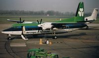 EI-FKE @ EIDW - Fokker 50 c/n 20208 Operated by EIN 1991-2001 (Scanned Image)