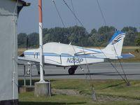 N205P @ EDBH - Beechcraft A36 Bonanza at Stralsund/Barth airport