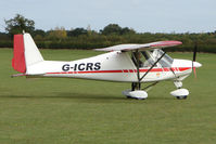 G-ICRS @ EGBK - Visitor to the 2009 Sywell Revival Rally