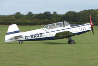 G-BKOB @ EGBK - Visitor to the 2009 Sywell Revival Rally