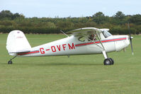G-OVFM @ EGBK - Visitor to the 2009 Sywell Revival Rally
