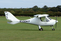 G-CEKT @ EGBK - Visitor to the 2009 Sywell Revival Rally