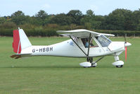 G-HBBH @ EGBK - Visitor to the 2009 Sywell Revival Rally