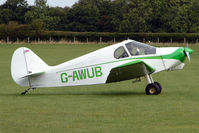 G-AWUB @ EGBK - Visitor to the 2009 Sywell Revival Rally
