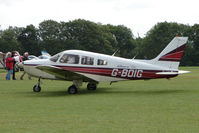 G-BOIG @ EGBK - Visitor to the 2009 Sywell Revival Rally