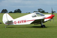 G-AVRW @ EGBK - Visitor to the 2009 Sywell Revival Rally