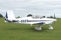 G-CCZT @ EGBK - Visitor to the 2009 Sywell Revival Rally