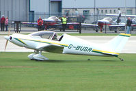 G-BUSR @ EGBK - Visitor to the 2009 Sywell Revival Rally