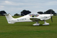G-CBZX @ EGBK - Visitor to the 2009 Sywell Revival Rally
