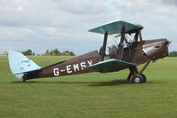 G-EMSY @ EGBK - Visitor to the 2009 Sywell Revival Rally