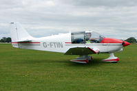 G-FTIN @ EGBK - Visitor to the 2009 Sywell Revival Rally