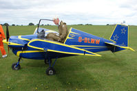 G-BLMW @ EGBK - Visitor to the 2009 Sywell Revival Rally