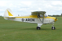 G-ARON @ EGBK - Visitor to the 2009 Sywell Revival Rally
