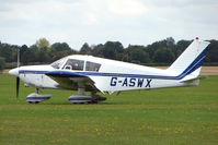 G-ASWX @ EGBK - Visitor to the 2009 Sywell Revival Rally
