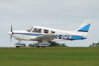 G-BMIW @ EGBK - Visitor to the 2009 Sywell Revival Rally